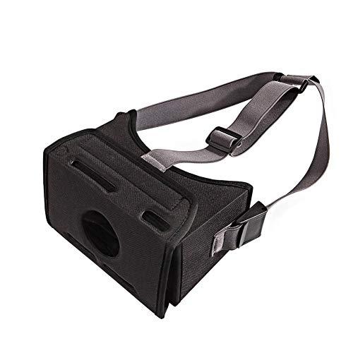 Spielhelm, Spielmaschine virtuelle Welt VR 3D-Brille mit speziellem Eva-Material, Nicht leicht zu verformen und zu zerdrücken, bessere Wärmeableitung, besonders leicht
