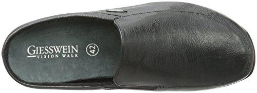 Giesswein Manta, Pantoufle homme Noir - Schwarz (022 Schwarz)