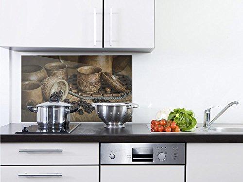GRAZDesign 200010_80x50_SP Küchenrückwand für Herd | Spritzschutz Echtglas | Bild-Motiv...