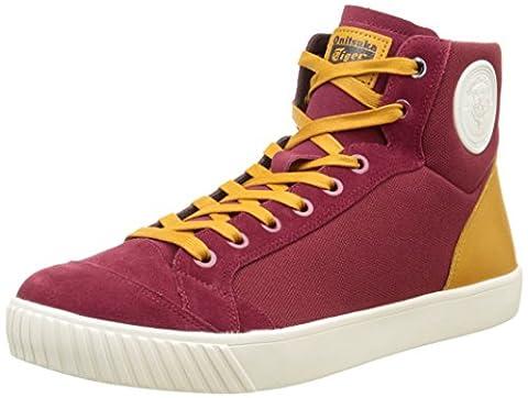 Onitsuka Tiger Herren Ok-Glory Hightop Sneaker, Bordeaux/Leder, 46 EU
