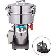 IDABAY Molinillo Electrico de Grano Swing Molino de alimento seco acero inoxidable en Columpio Polvo máquina