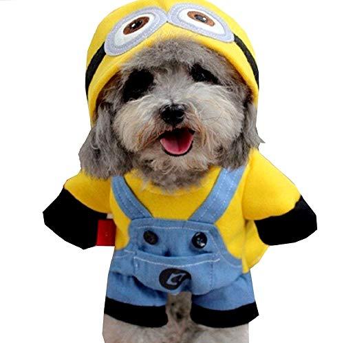 EVRYLON Kinder-Kostüm für Tiere, Tiere, Hunde, S Verkleidung Halloween Cosplay Weihnachten oder Geburtstag (Große Rasse Hunde Weihnachten Kostüm)