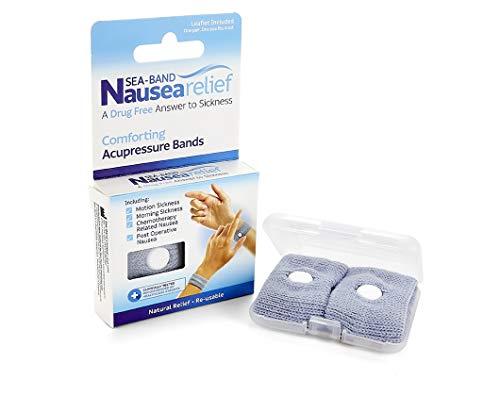 Sea-Band Nausea Relief Wrist Band: Drug Free Nausea Relief -