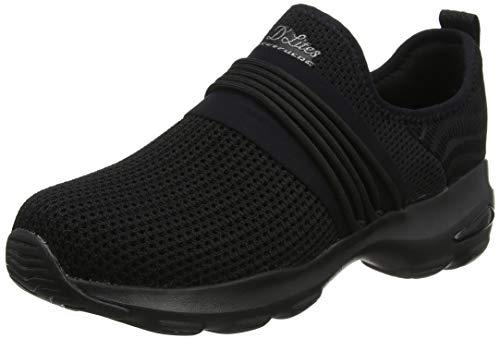 Skechers d'lite ultra-semi-precious, scarpe da ginnastica donna, nero (black bbk), 41 eu