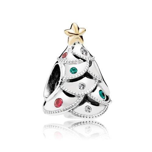 Pandora Silber Charm Weihnachtsbaum 791999CZRMX