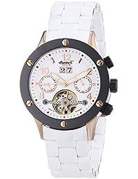 Ingersoll Damen-Armbanduhr Chronograph Automatik Plastik IN1403RWBK
