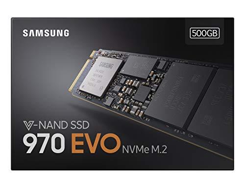 Samsung MZ-V7E500BW 970 EVO Interne SSD, 500GB NVMe M.2