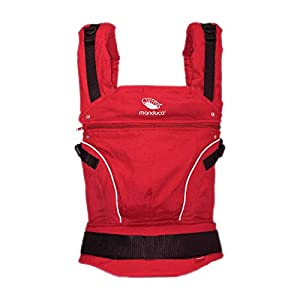 Manduca 3-in-1 Pure Cotton Baby Carrier (Chili Red)   2