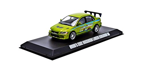 greenlight-collectibles-86209-mitsubishi-lancer-evolution-vii-2-fast-2-furious-2003-echelle-1-43