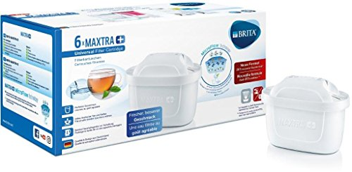Brita Filterkartuschen Maxtra+ 6er Pack weiß