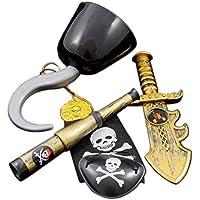 GIRM® - 8412 - Kit da pirata per costume di