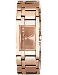 Esprit Damen-Armbanduhr LA Rosegold Houston Analog Quarz ES000J42082