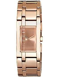 Esprit Damen-Armbanduhr LA Rosegold Houston Analog Quarz ES000J42082