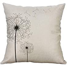 BBestseller Almohada Impresa Lino Simple,Funda de Almohada para Coche Cojines para Sofas Almohadas IKEA