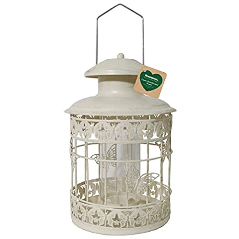 Rosewood Classic Butterfly Wild Bird Seed Feeder