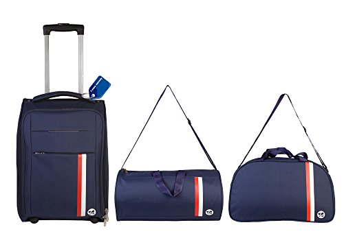 3G Combo of 3 Suitcase and Duffle Bag Blue (New)