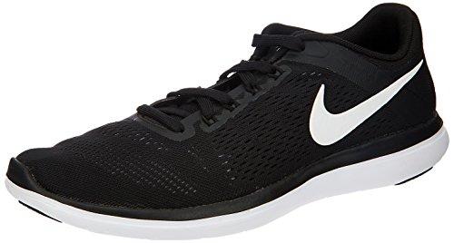 Nike Herren Flex 2016Rn Laufschuhe, Grün, UK Black (001 Black)