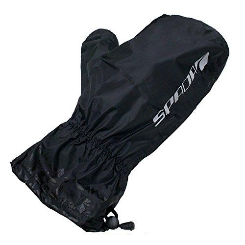 Preisvergleich Produktbild Spada Overmitts WP Motorrad-Überhandschuhe Regenhandschuhe - Schwarz - M