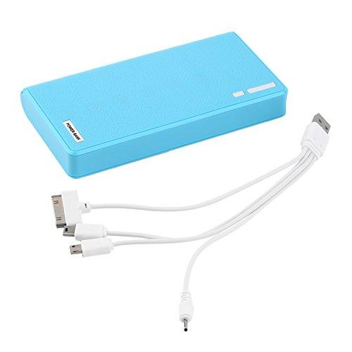 50000mAh chargeur externe de batterie de secours de banque de secours de banque de puissance externe de LED pour le téléphone...