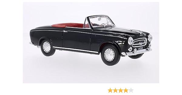 Peugeot 403 Cabriolet Schwarz Offen 1957 Modellauto Fertigmodell Welly 1 18 Spielzeug