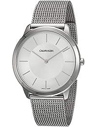 c79cd3981991 Calvin Klein K3M21126 - Reloj Analógico de cuarzo con correa de acero  inoxidable