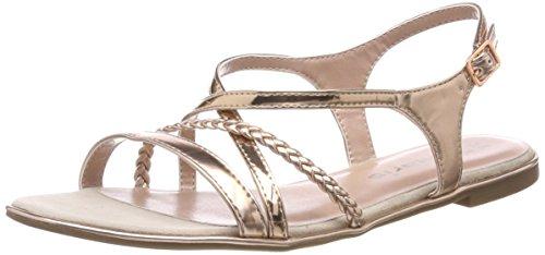 Tamaris Damen 28129 Slingback Sandalen, Pink (Copper), 36 EU