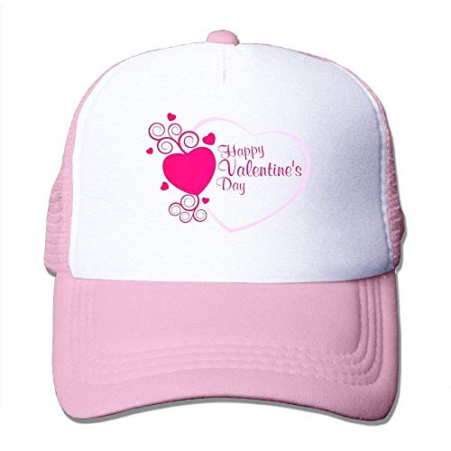 dfegyfr Justierbare Fernlastfahrer-Sonnenhüte des Valentinstags-Hut-Sport-Baseballmützen Unisex41