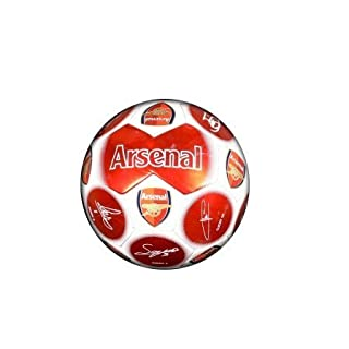 New Official Football Team Size 5 Signature Football's (Arsenal FC)