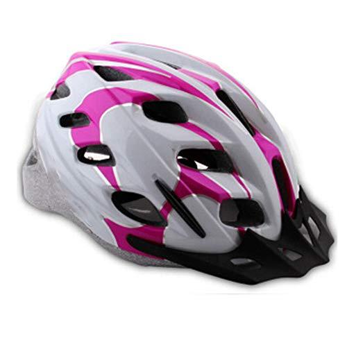 GGYJ-Radsport Passt zu deinem Kopf, Passt zu deiner Seele Fahrradhelm Street Bike Helm,Fahrradzubehör (Farbe : Rosa) -