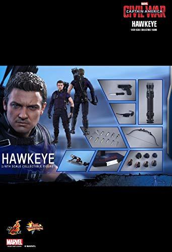 Hot Toys MMS358 - Marvel - Captain America : Civil War - Hawkeye 1/6 - Officiel