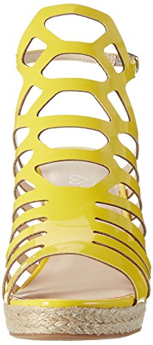 Another Pair of Shoes Wyatte1, Spartiates Femme Jaune (Yellow51)