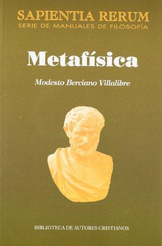 Metafísica por Modesto Berciano Villalibre