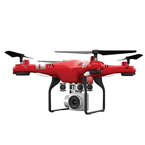LLonGao Drohne mit Kamera Ferngesteuerte Flugzeuge Hubschrauber mit Flugspielen Fernbedienungen GPS Kamera 2MP Kamera HD WiFi Funkgesteuerter Hubschrauber Selfie Flugzeuge