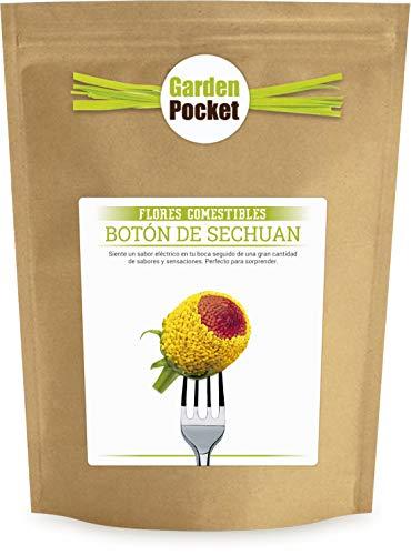 Kit cultivo Flores Comestibles - Botón de SECHUAN