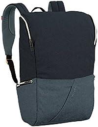 VAUDE Aspe Algodón Negro/Gris mochila - Mochila para portátiles y netbooks (Algodón,