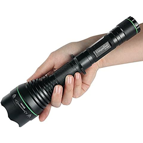 UniqueFire UF1508 IR T50 850 nm 50mm lente luz infrarroja visión nocturna linterna foco ajustable linterna antorcha para noche Huting