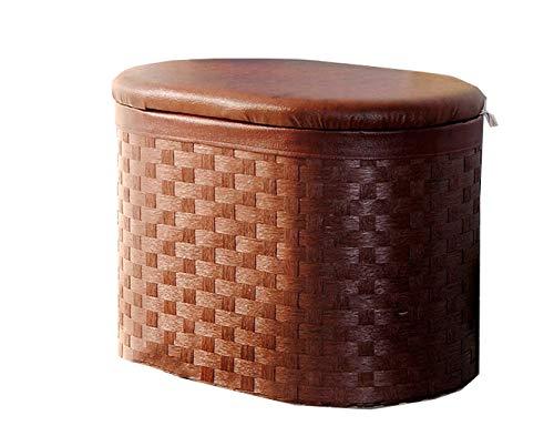 Esperanzaxu sgabello panca per scarpe di stoccaggio in legno