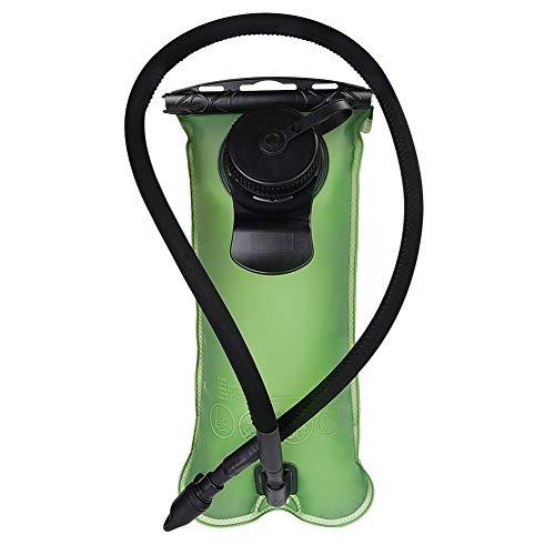 (Green, 3L) - DEKINMAX Hydration Bladder 3L/2L Water Bladder BPA Free Leak-proof TPU Water Reservoir for Outdoor Cycling Hiking Camping Climbing Running - Tomaten-pack