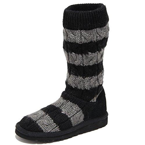 3825n-stivale-bimbo-ugg-lana-grigio-nero-boots-kids-senza-scatola-28