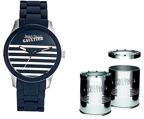 Jean Paul Gaultier JP_8501118 - Reloj Analógico Para Hombre, color Azul/Azul