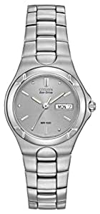 Citizen Ladies Eco-Drive Corso Stainless Steel Watch #EW3030-50A