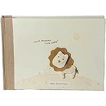 Unisex libro de registro de bebé Little, diseño de León para nuevo bebé niño o niña
