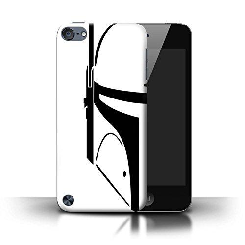 Stuff4® Hülle/Case für Apple iPod Touch 5 / Kopfgeldjäger Muster/Angriffs Trooper Helm Kollektion (Disney Ipod Touch)