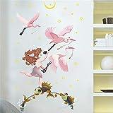 Aha Yo Tv - Hintergrund Wand Kinderzimmer Umweltschutz Kreative Wand Kleben Schlafzimmer Abnehmbaren Wand Kleben Wohnzimmer 50Cm X 70Cm