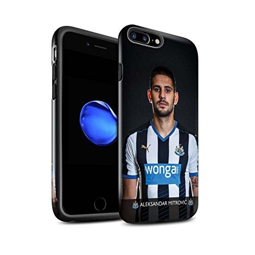 Officiel Newcastle United FC Coque / Brillant Robuste Antichoc Etui pour Apple iPhone 7 Plus / Rivière Design / NUFC Joueur Football 15/16 Collection Mitrovic