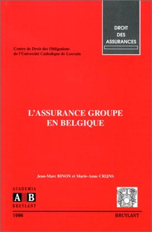 L'Assurance groupe en Belgique