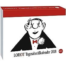 Loriot Tagesabreißkalender - Kalender 2018