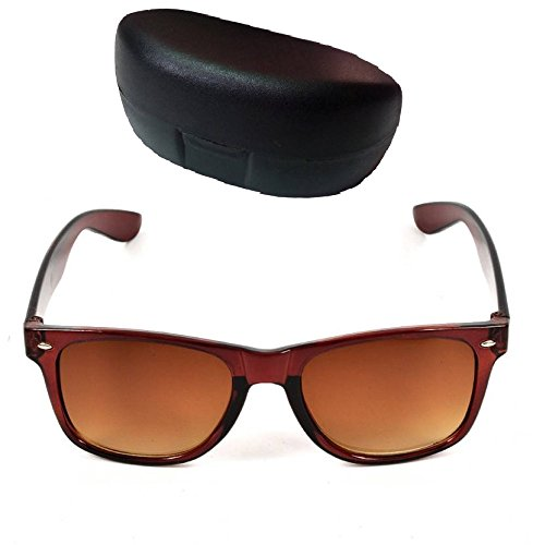 Mango People MP-wafer-brwn Unisex Stylish Sunglass Collection  available at amazon for Rs.97