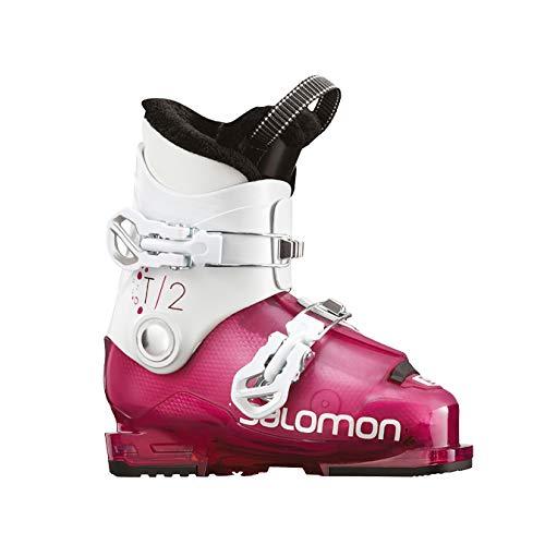 Salomon Kinder Skischuhe rosa 21