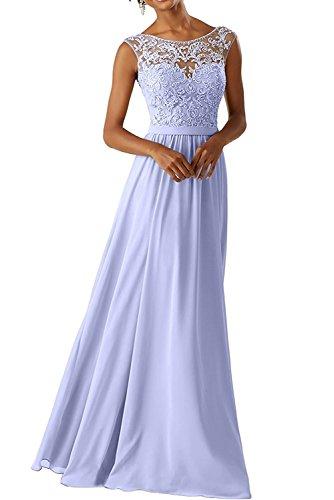 CLLA dress Damen Abendkleider Für Hochzeits Elegant Appliques Ballkleid Lang Cocktailkleider(Lavendel,36) (Handgefertigtes Cinderella Kleid)